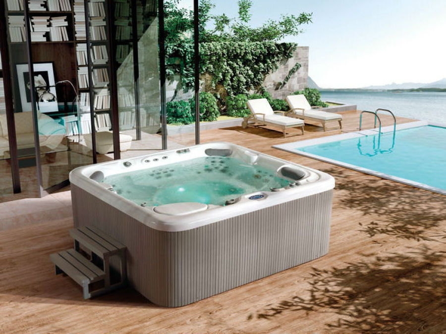 spa chez soi ce que les piscines nuont pas duo luintrt duavoir un spa avec ou sans piscine le. Black Bedroom Furniture Sets. Home Design Ideas
